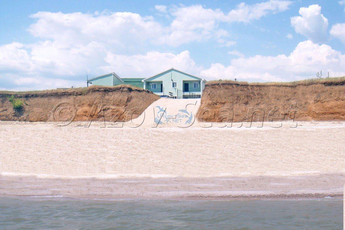 Отдых на Азовском море. Отличный пляж. Степановка Перая.